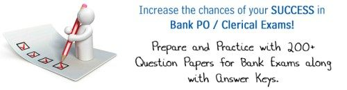 bank exams question papers & Model Question Papers