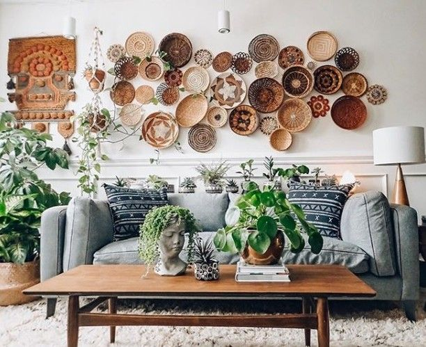 20 Wall Decor Ideas To Refresh Your Space Baskets On Wall Decor