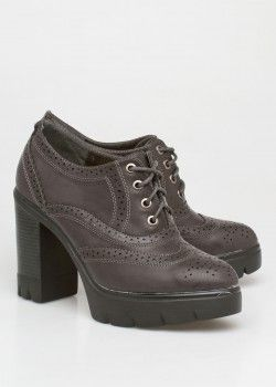 Dena oxford boot, γκρι