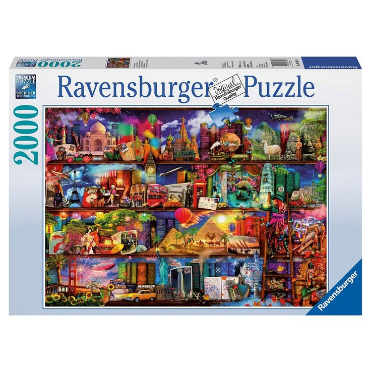 Ravensburger World of Books Puzzle - 2000 Pieces