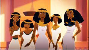Ladies from Joseph King of Dreams.