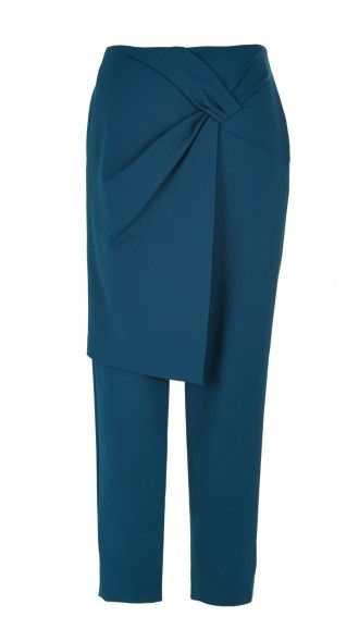 A classic trouser with a twist: Tibi's Agathe Wrap Pants have the perfect relaxed fit with an on-trend wrap effect.