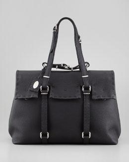 N21MY Fendi Selleria Men's Overnight Bag, Black