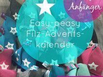 Ebook Adventskalender aus Filz