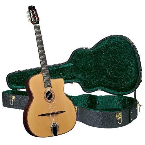 Gitane DG-340 Professional Gypsy Jazz Guitar - Modèle Stephane Wrembel with Hardshell Case -- Click image for more details.