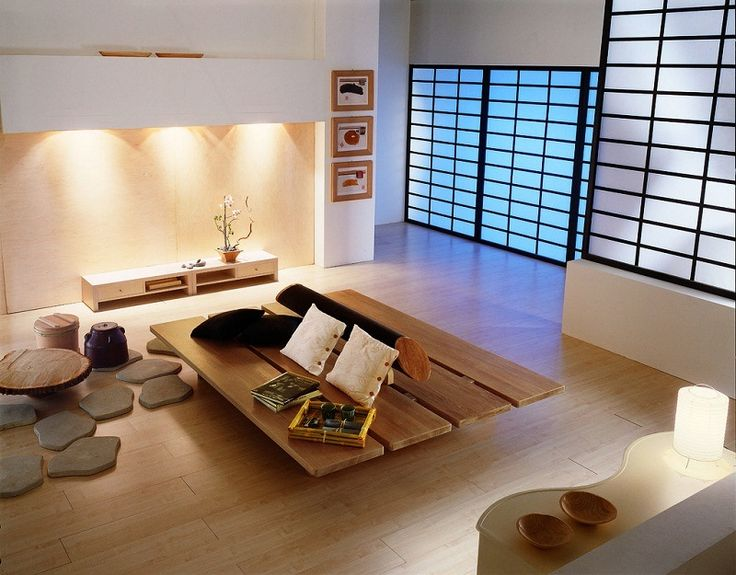 Living Room. Japan Style Living Room Design Ideas. Brilliant white ...