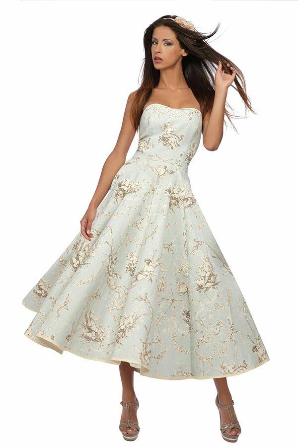 Robe de mariée mariage civil, les en toile de jouy...: Silhouette ...