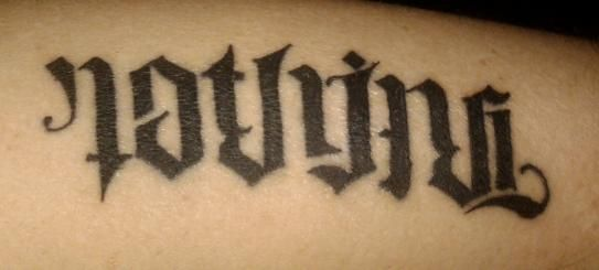 Ambigram Tattoo Pictures, Tattoo Images, Tattoos Pics