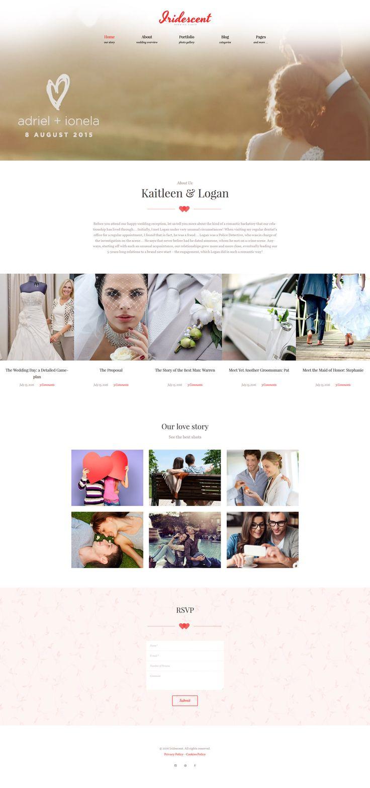 Wedding Album Maker WordPress Theme