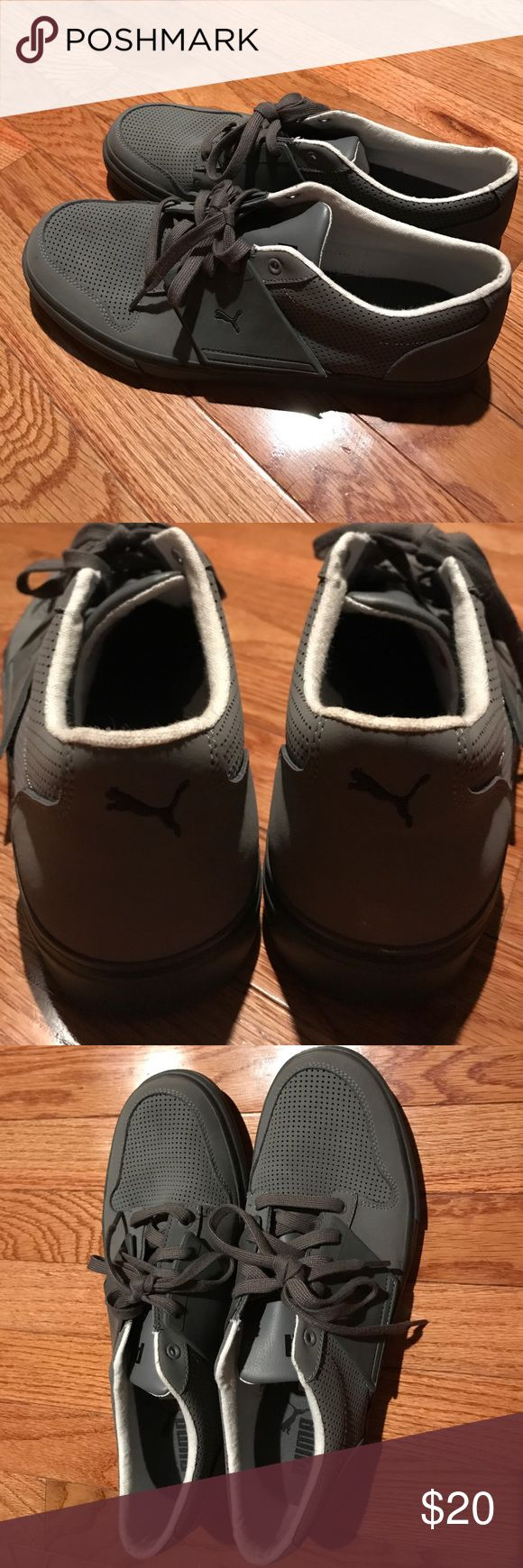 Brand New! Trending now--Men's Puma Sport Shoes! Brand New! Trending now--Men's Puma Sport Shoes! Grey Size 11.5 Puma Shoes Oxfords & Derbys