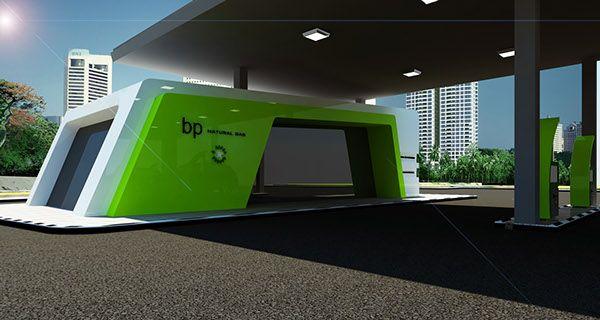 new gas station design - Buscar con Google