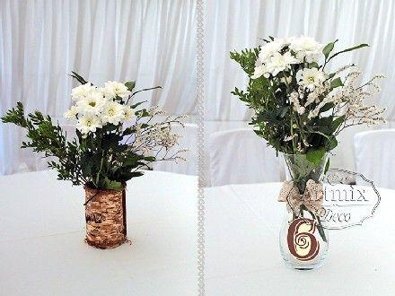 Столы гостей соответствуют стилистике свадьбы