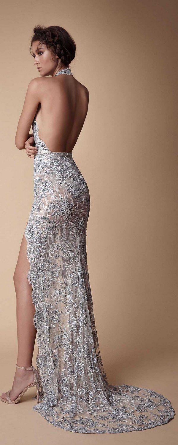 Grey Metallic 2018 Cocktail Dresses