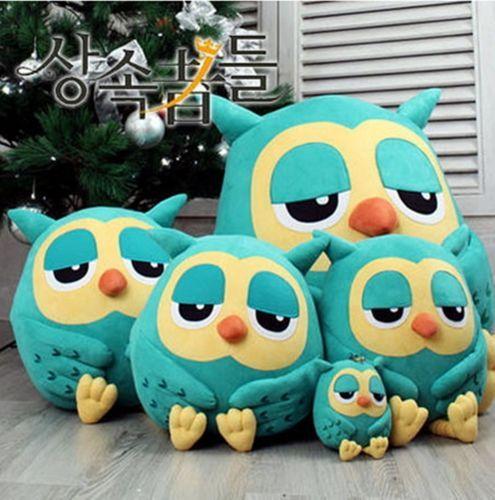 Owl doll pillow Cushion stuffed cute animal gift home decor plush toy soft movie