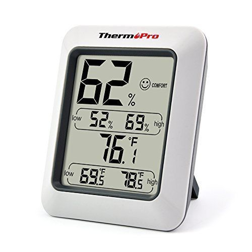 ThermoPro TP50 Hygrometer Thermometer Indoor Humidity Monitor  #ThermoPro