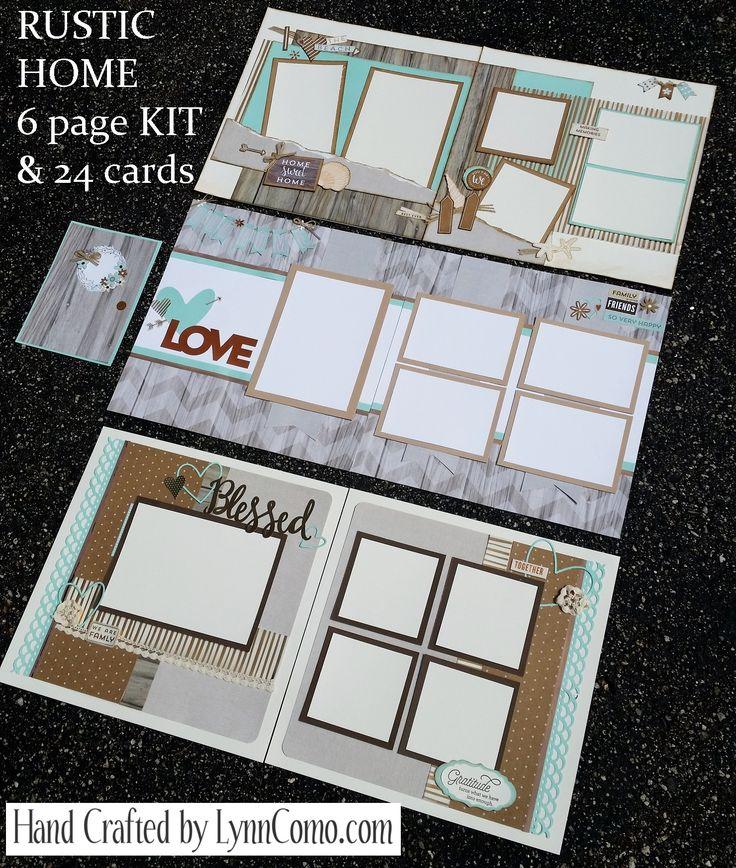 Lynn Como - CTMH Rustic Home layouts.