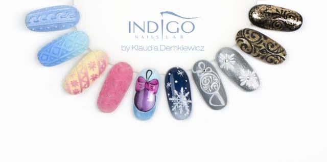 Christmas nails from Klaudia Demkiewicz Indigo Educator <3 #christmas #merry #nails #nailsdesign #polish #gelpolish