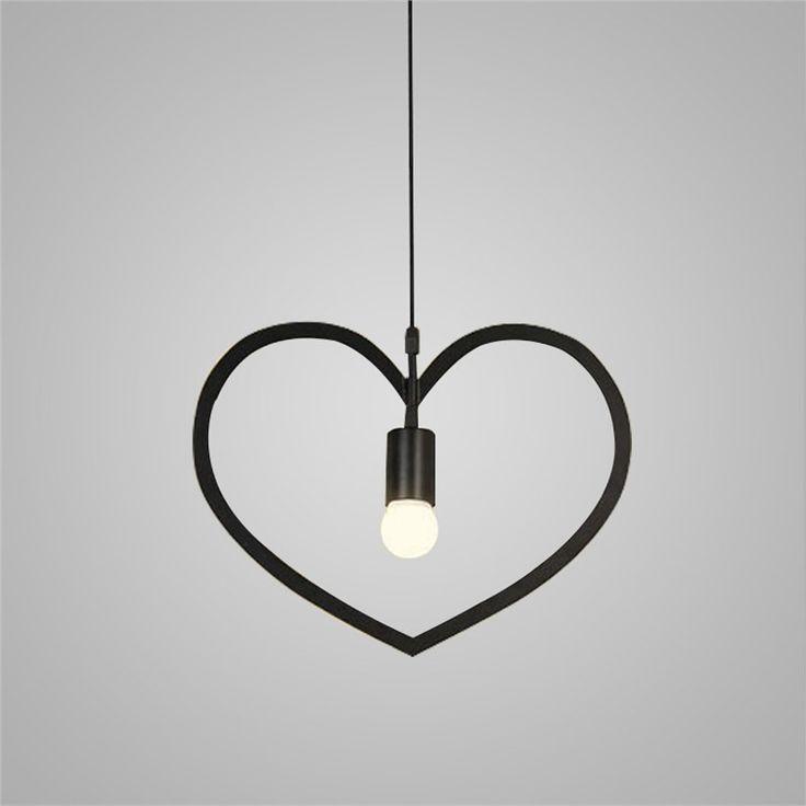 ペンダントライト 照明器具 店舗照明 寝室照明 食卓照明 天井照明 ハート 1灯