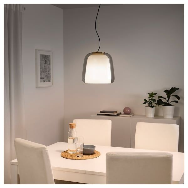 EVEDAL Taklampa grå | Taklampa, Ikea, Vardagsrum
