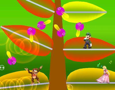 Hanenbow - Electroplankton - Nintendo - Super Smash Bros Brawl - Super Smash Brothers Brawl - Super Smash Bros games - Super Smash Brothers games
