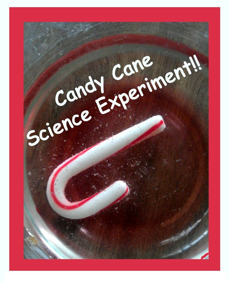 Candy Cane Science Experiment PreK & older!!