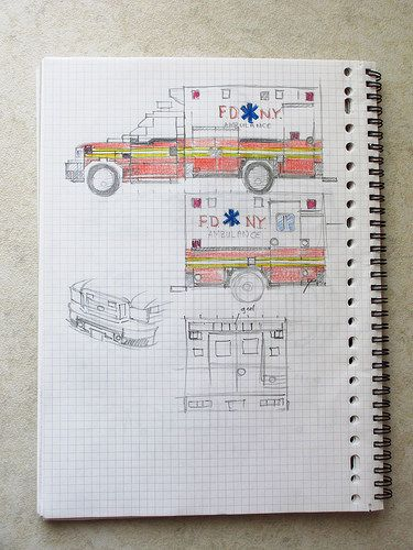 Lego Ambulance design | As part of the design process for a … | Flickr