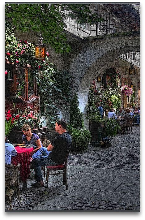 Stajnia cafe, Kazimierz, Krakow, Poland