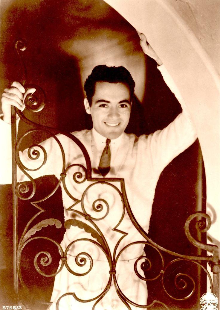 "CHARLES 'Buddy' ROGERS early 1930's ""ross"" sepia postcard (sans border)  Silent star, 30's-40's actor/singer/jazz musician/bandleader married silent legend Mary Pickford who was 12 years his senior (please follow minkshmink on pinterest) #buddyrogers #bandleader #silentstar #jazzmusician"
