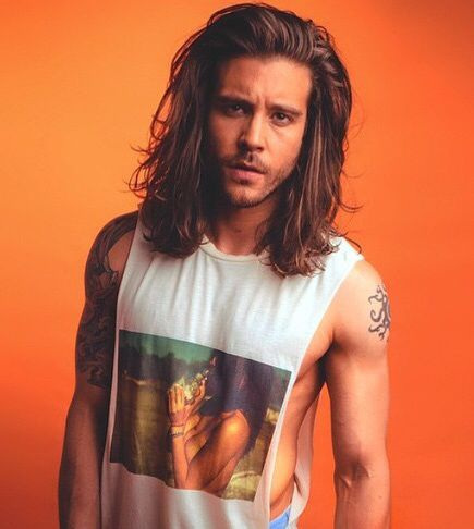90s men hairstyles   Thick hair styles, Long hair styles ...
