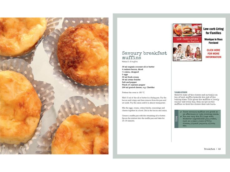 Savoury breakfast muffins. Looks simple and delicious. I shall attempt this today. #LCHF #banting #timnoakes