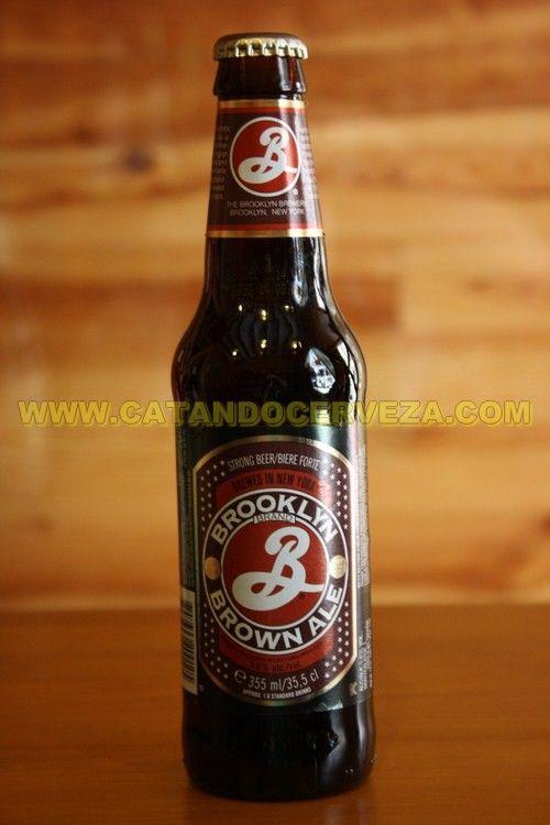 Cerveza Brooklyn Brown Ale. #cerveza Ale de Estados Unidos Tostada.