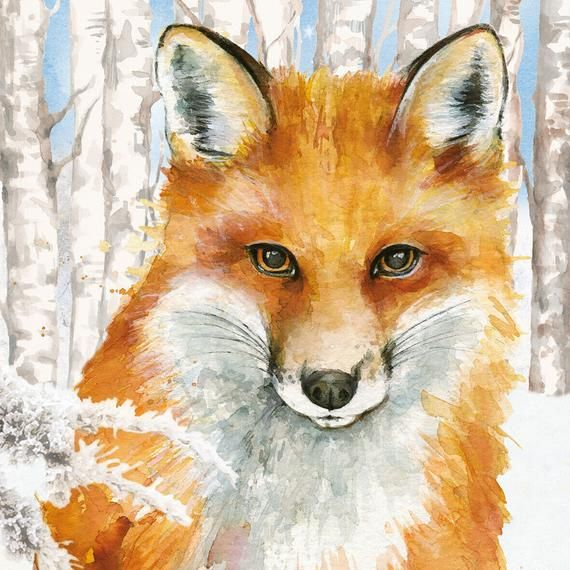 Napkin Art 4 x Paper Napkins Ideal for Decoupage Portrait of Foxes