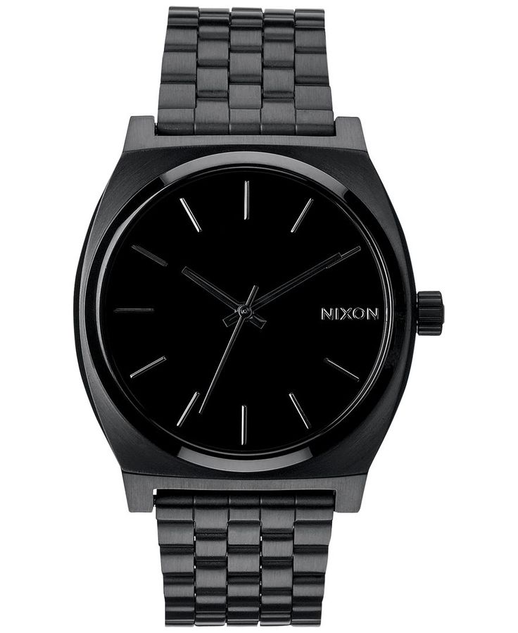Nixon Men's Time Teller Stainless Steel Bracelet Watch 37mm A045-511-00