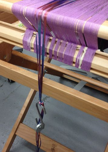 ribbon warp bout weighted
