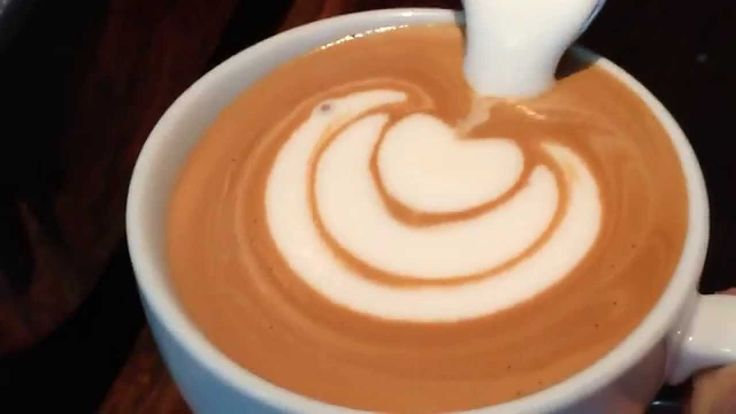 How to make Latte Art: The Basics in Slow Motion by Barista Dritan Alsela