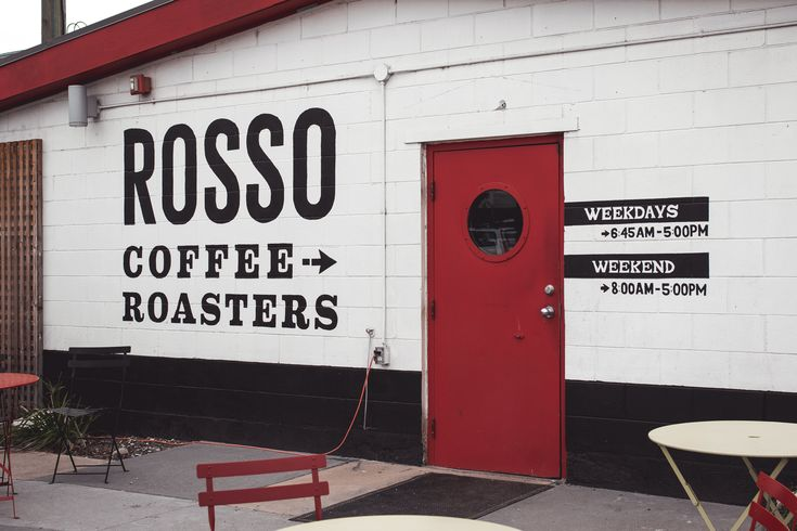 Welcome to Ontario, Rosso Coffee Roasters