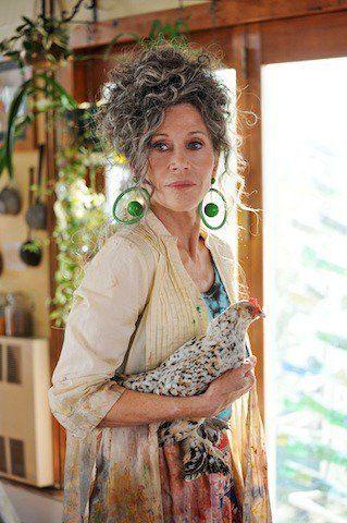 ladyjane_Jane Fonda Is Not a Hippie and | Peace love and misunderstanding, Grey hair ...