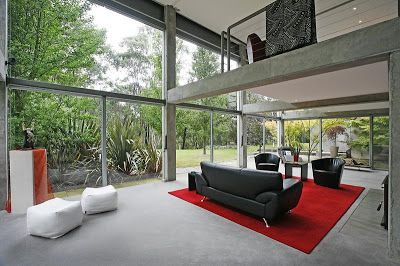 Paul Couch | Architect - Mount Macedon house