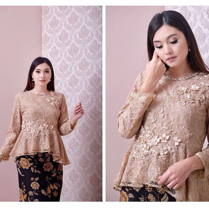 """681 Likes, 33 Comments - EIWA - kebaya bajubodo brokat (@eiwaonline) on Instagram: """"SOLD OUT TOP0193 (Brown) Bust 96cm Length 55cm Sleeve 40cm wide with Lining For more details and…"""""""