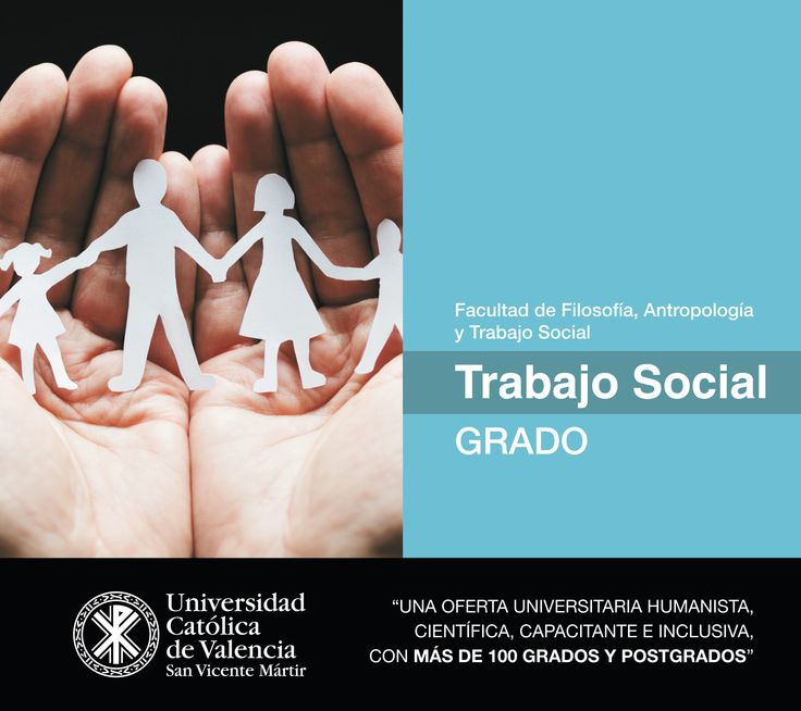 #Grado en #Trabajo #Social de la #UCV #CercaníaUCV #TuGradoUCV