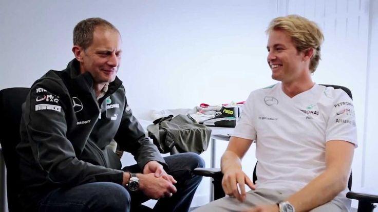 Informatives Video mit Formel 1 Fahrer Nico Rosberg und seinem Techniker - eine wichtige Verbindung!