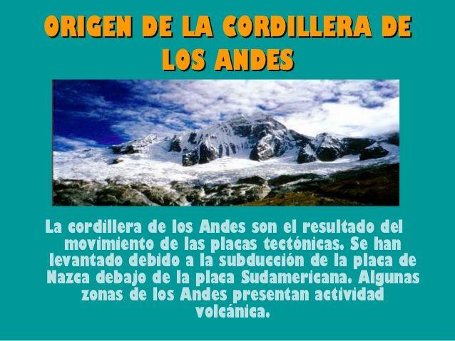 Resultado De Imagen Para Origen De La Cordillera De Los Andes Desktop Screenshot