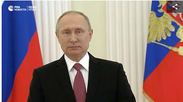 Το Κουτσαβάκι: Η Ομιλία του Βλαντιμίρ Πούτιν προς τους Ρώσους