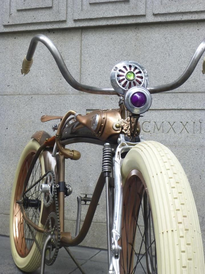 Steampunk Tendencies | Remix #Bicycle #Design #Steampunk