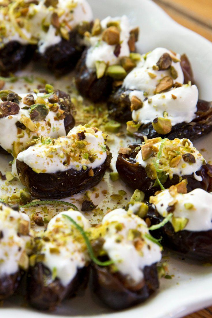 """NYT Cooking: Dates and dairy are ancient staples of the Middle East. This recipe, from Yvonne Maffei, who writes the popular cooking and nutrition blog <a href=""""http://myhalalkitchen.com/"""" target=""""_blank"""">My Halal Kitchen</a>, combines the two into a luxurious dessert, for Ramadan or other feasts, with very little effort from the cook."""