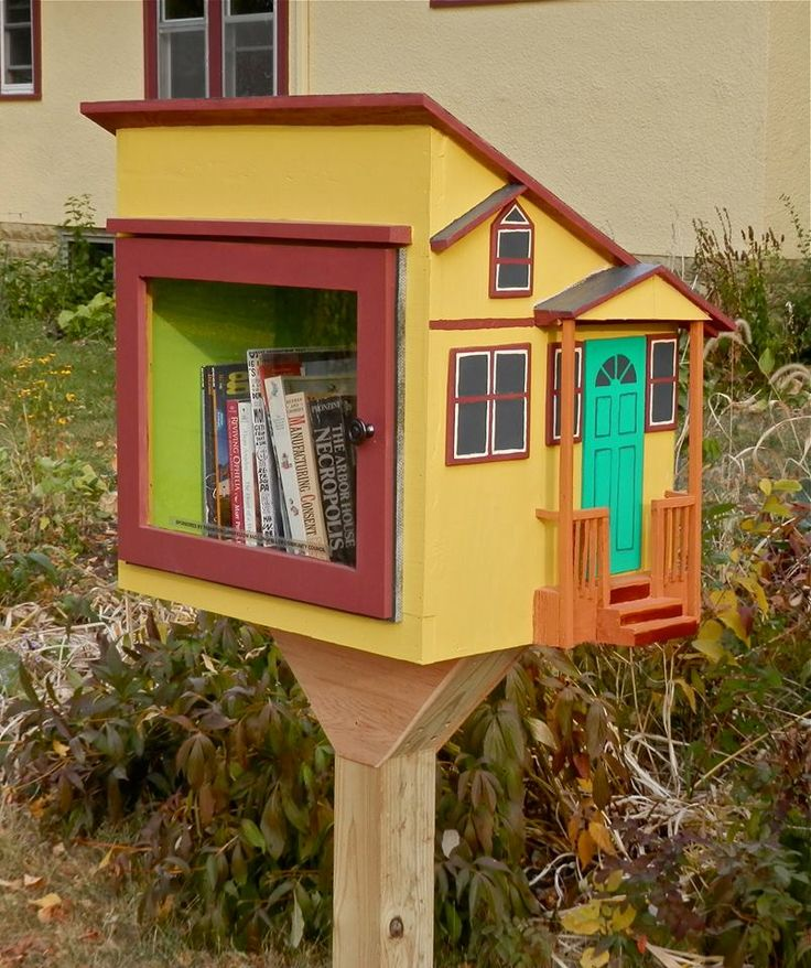 1900 Best Little Free Libraries Images On Pinterest