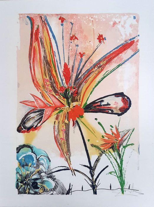 Rezultat slika za plants and love painting salvador dali