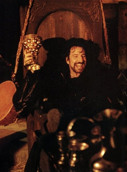 "Alan as the Sheriff of Nottingham from ""Robin Hood - Prince of Thieves"" 1991"
