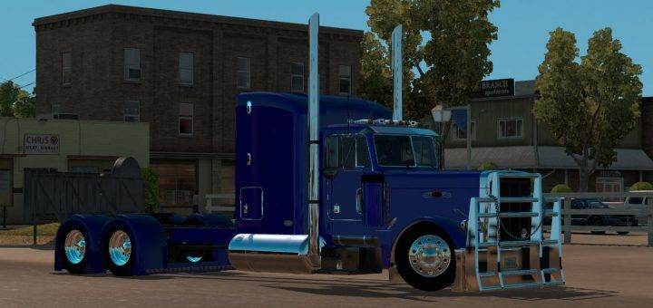 WESTER STAR 5700 OPTIMUS PRIME V1 4 FOR ATS MOD - American