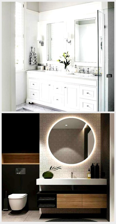 Mejor cuarto de baño Armarios blancos Puertas de granero ...